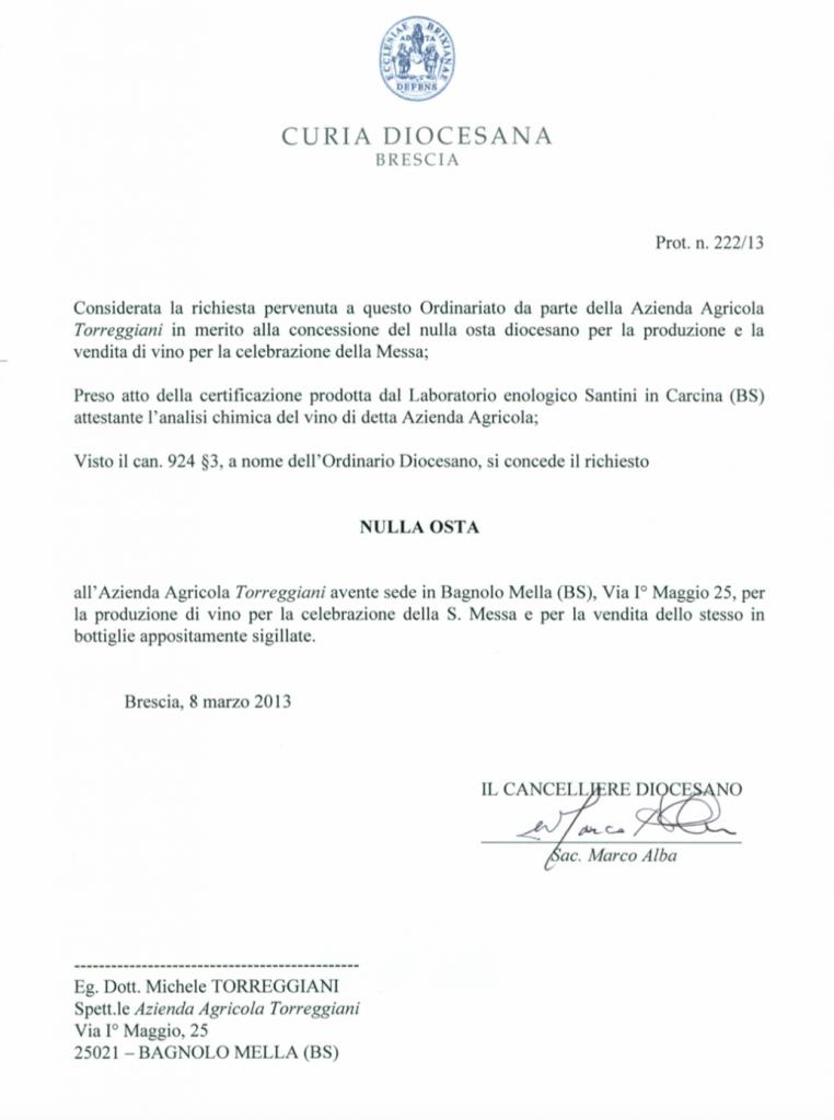 Autorizzazione Francesco I
